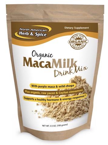 Image of MacaMilk Drink Mix Powder