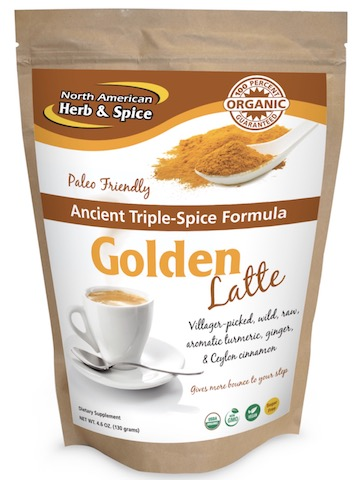 Image of Triple Spice Golden Latte Drink Mix Powder