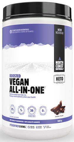 Image of Boosted Vegan All-In-One Protein Powder Chocolate