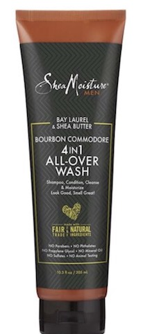 Image of Men Bay Laurel & Shea Butter 4 in 1 All Over Wash
