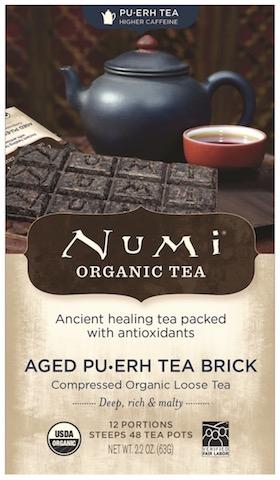 Image of Pu-Erh Tea Brick Aged Pu-Erh Tea