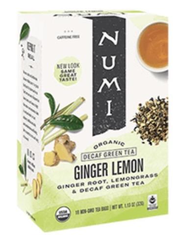 Image of Green Tea Decaf Ginger Lemon