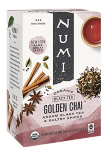 Image of Black Tea Golden Chai