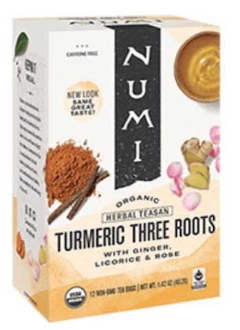 Image of Herbal Teasan Turmeric Three Roots