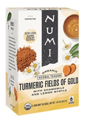 Image of Herbal Teasan Turmeric Fields of Gold