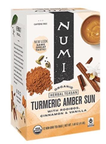 Image of Herbal Teasan Turmeric Amber Sun