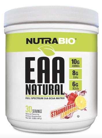 Image of EAA Natural Powder Strawberry Lemonade