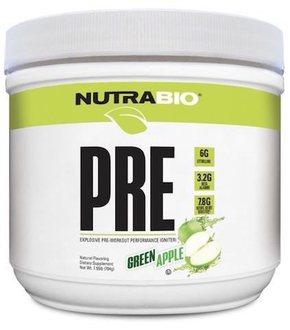 Image of PRE Workout V5 Natural Powder Green Apple