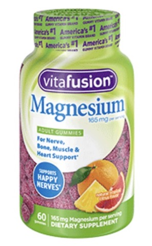 Image of Magnesium 165 mg Gummy Tropical Citrus