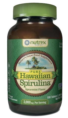 Image of Hawaiian Spirulina 1000 mg Tablet Spearmint