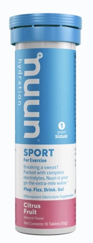 Image of Nuun Sport Drink Tabs Citrus Fruit