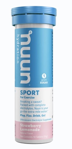 Image of Nuun Sport Drink Tabs Strawberry Lemonade