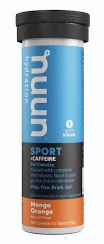 Image of Nuun Sport + Caffeine Drink Tabs Mango Orange