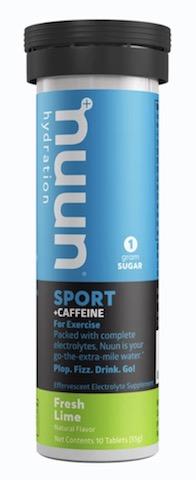 Image of Nuun Sport + Caffeine Drink Tabs Fresh Lime
