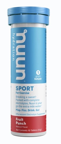 Image of Nuun Sport Drink Tabs Fruit Punch