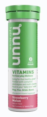Image of Nuun Vitamins Drink Tabs Strawberry Melon