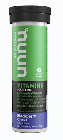 Image of Nuun Vitamins + Caffeine Drink Tabs Blackberry Citrus
