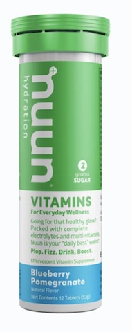 Image of Nuun Vitamins Drink Tabs Blueberry Pomegranate