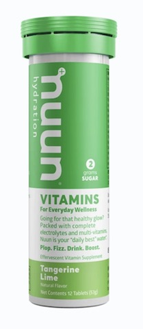 Image of Nuun Vitamins Drink Tabs Tangerine Lime
