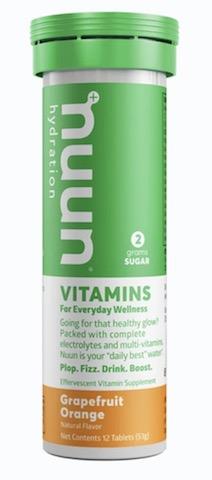 Image of Nuun Vitamins Drink Tabs Grapefruit Orange