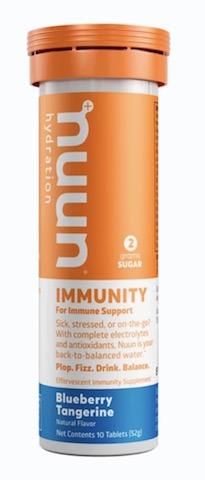 Image of Nuun Immunity Drink Tabs Blueberry Tangerine