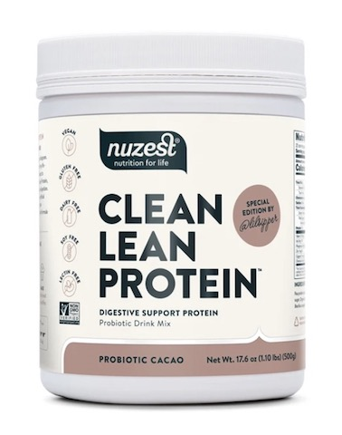 Image of Clean Lean Protein Powder Digestive Support Protein Probiotic Cacao