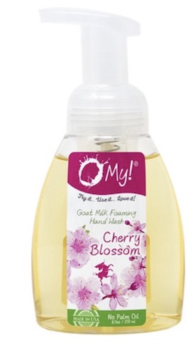 Image of Goat Milk Foaming Hand Wash Cherry Blossom