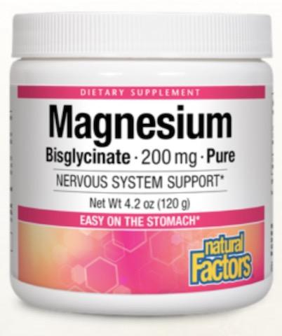 Image of Magnesium Bisglycinate 200 mg Powder