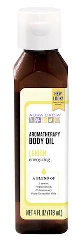 Image of Aromatherapy Body Oil Lemon