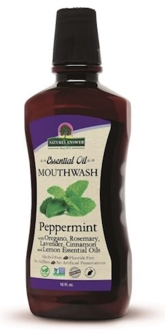 Image of Essential Oil Mouthwash Peppermint