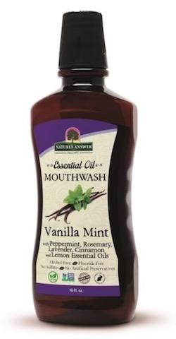 Image of Essential Oil Mouthwash Vanilla Mint