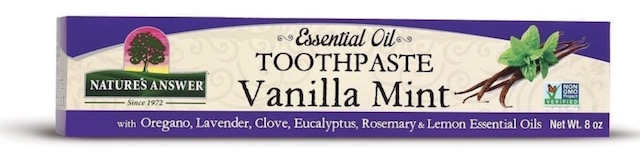Image of Essential Oil Toothpaste Vanilla Mint