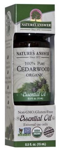Image of Essential Oil Cedarwood Organic