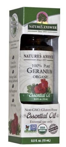 Image of Essential Oil Geranium Organic
