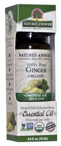 Image of Essential Oil Ginger Organic