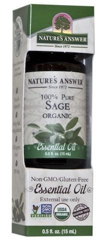 Image of Essential Oil Sage Organic