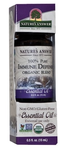 Image of Essential Oil Blend Immune Defense Organic