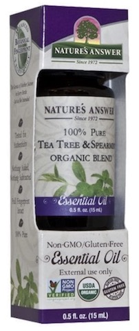 Image of Essential Oil Blend Tea Tree & Spearmint Organic