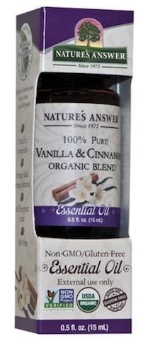 Image of Essential Oil Blend Vanilla & Cinnamon