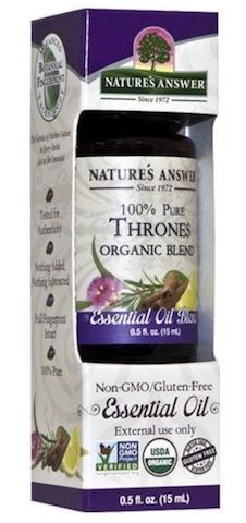 Image of Essential Oil Blend Thrones Organic