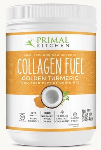 Image of Collagen Fuel Powder Golden Turmeric