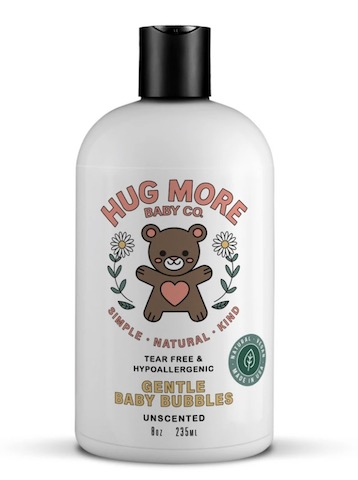 Image of Safe & Gentle Baby Bubbles Unscented