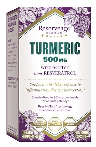 Image of Turmeric with Resveratrol 250/50 mg
