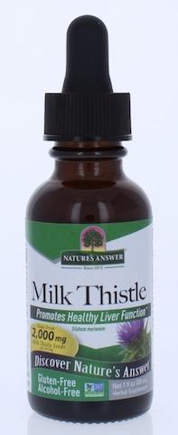 Image of Milk Thistle Liquid Alcohol Free