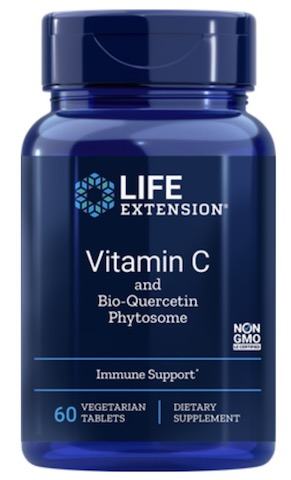 Image of Vitamin C and Bio-Quercetin Phytosome 1000/15 mg (small size)