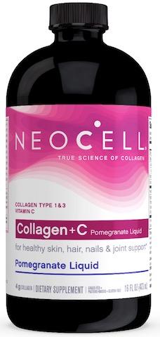 Image of Collagen+C Pomegranate Liquid