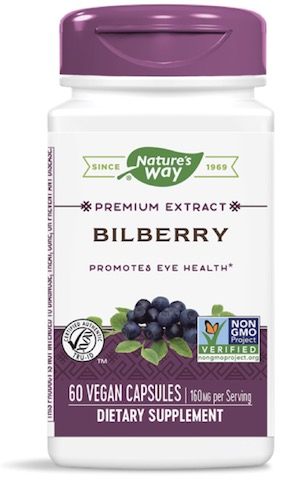 Image of Bilberry Extract 80 mg (Standardized)
