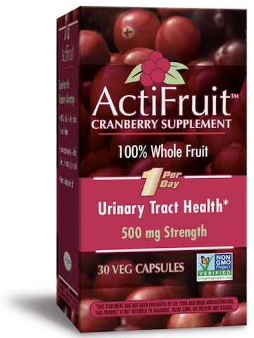 Image of ActiFruit Cranberry 500 mg Capsule