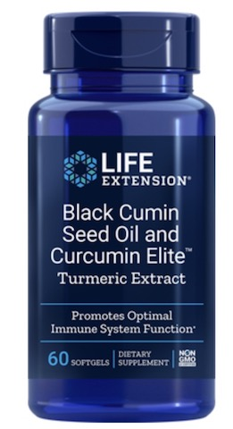 Image of Black Cumin Seed Oil with Curcumin Elite Turmeric Extract