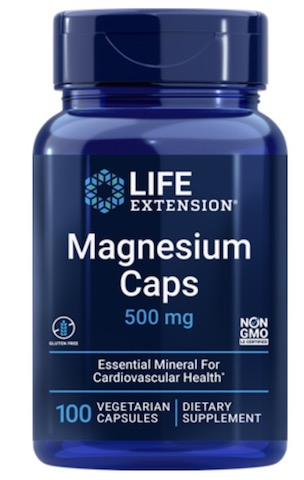 Image of Magnesium Caps 500 mg